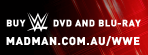 WWE DVD in Australia - Madman Entertainment