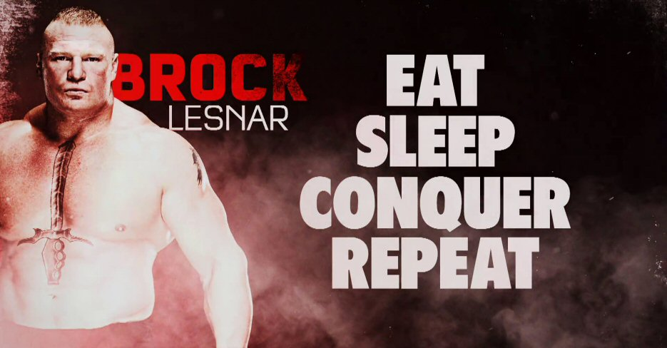 EXCLUSIVE Official Trailer For WWE BROCK LESNAR Eat Sleep Conquer Repeat DVD Blu Ray