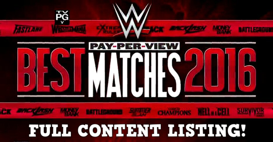 List Of Wwe Papervieuw 2019: EXCLUSIVE: Full Content Listing Revealed For WWE 'Best PPV