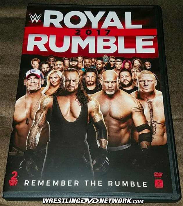 WWE Royal Rumble 2017 DVD - Photos, Front Cover