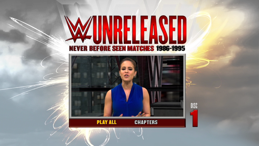 The Menu For WWE Unreleased!