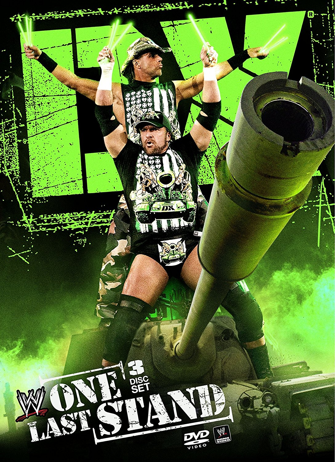 WWE D-Generation X: One Last Stand DVD Cover