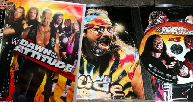 RELEASED TODAY: First Look Photos of WWE '1997 – Dawn of The Attitude' DVD, Where's The Blu-Ray?