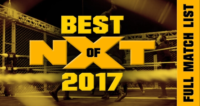 REVEALED: The FULL Content Listing And Updated Cover Artwork for WWE 'BEST OF NXT 2017' DVD