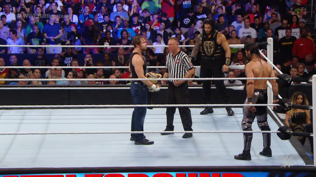WWE 'The Shield: Justice for All' DVD - Shield Members in Triple Threat Match