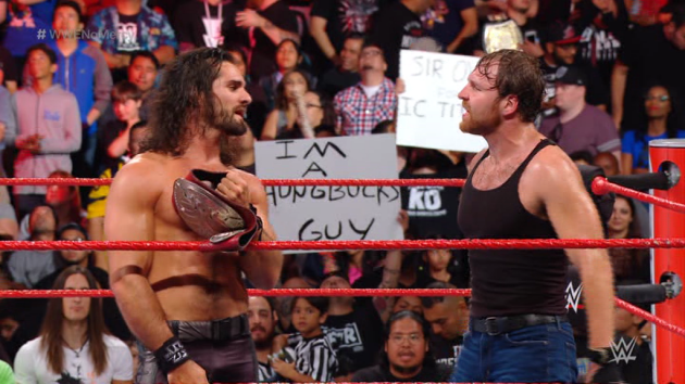 WWE - Seth Rollins And Dean Ambrose as RAW Tag Team Champions