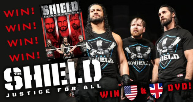 Win WWE 'The Shield: Justice for All' DVD!